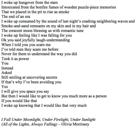 I Fall Under Moonlight