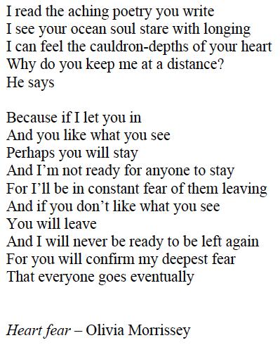 Heart Fear poem
