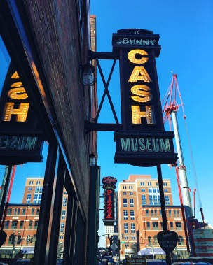 @GoodGrateful: The Johnny Cash museum in downtown Nashville.