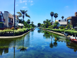 @Goodgrateful: The Howland Canal in Venice Beach, Los Angeles, June 11, 2017.